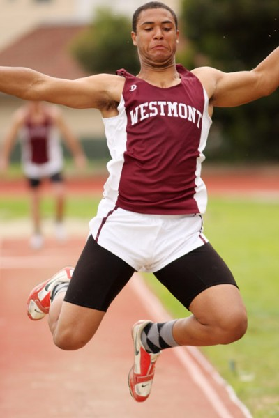 Adam Thompkins will compete for the Warriors in the decathlon