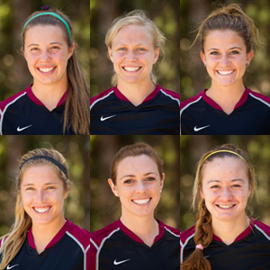 Top Row (l-r): Carly Richardson, Alison Hensley, Christina Adams. Bottom Row (l-r) Jenny Ann Martinez, Denae Crump, Courtney Stonesifer.