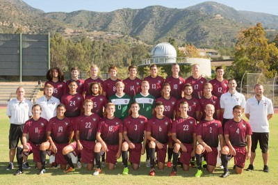 2014 Westmont Men's Soccer Team
