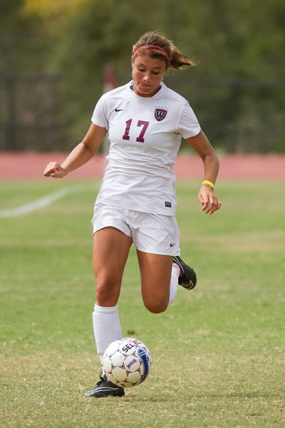 Kelsey Steck recorded her second career hat trick in Westmont