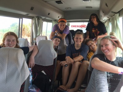 Westmont Women's Basketball traveling in Uganda