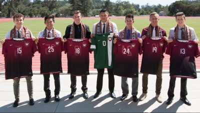 Incoming Men's Soccer recruits for 2016.