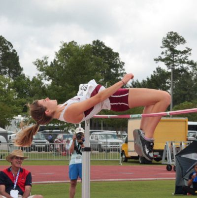Becky Collier: National Champion in the heptathlon (Photo by Kaci Mexico)