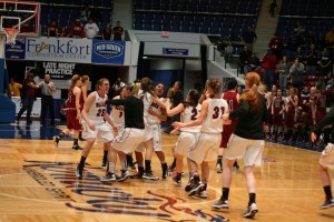 Women's Basketball make History with NAIA win