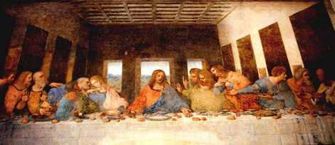he Last Supper by Leonardo Da Vinci