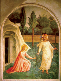 Fra Angelico depiction of Mary Magdalene