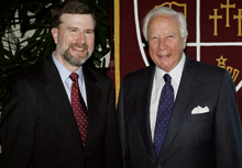 Stan D. Gaede with David McCullough
