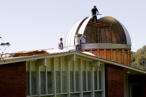 New Observatory Dome