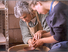 Art professor pottery