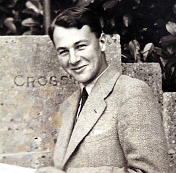 A young John Stott. Photo courtesy of John Stott Ministries.