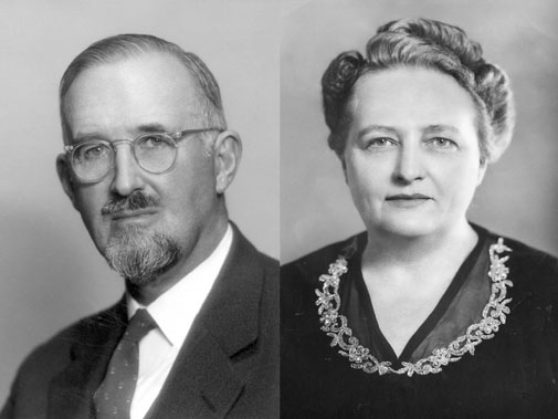 Wallace Emerson and Ruth Kerr