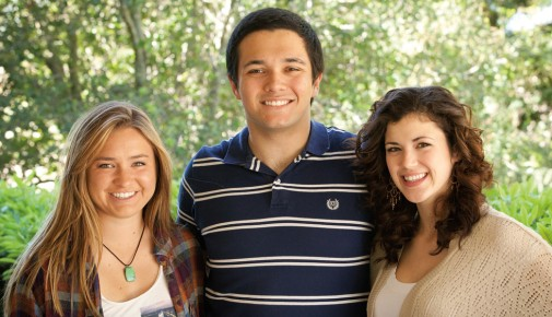 From left to right: Kelly Tully, Will Breman, and Katelyn Mena