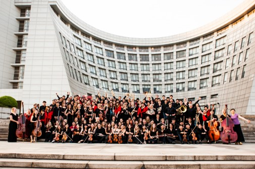 The Westmont Orchestra in Shanghai