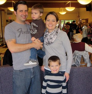 "Shaun Kempston'04 is married to Heidi and has two little boys, Finn and Mack. He's been a copywriter for 10 years and is a senior writer for World Vision's in-house creative agency. Before his professional journey, Shaun wrote fake food reviews and an entertainment column for the Westmont Horizon. They were called, ""Shaun Gets His Eat On,"" and ""Stupid Shaun Stories,"" respectively. He has matured since then—sort of."