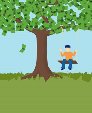 Money Tree Swing