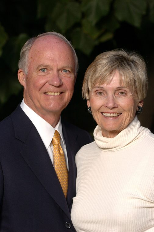 David and Carol Eaton have helped establish the Eaton Family Chair in Economics and Business at Westmont