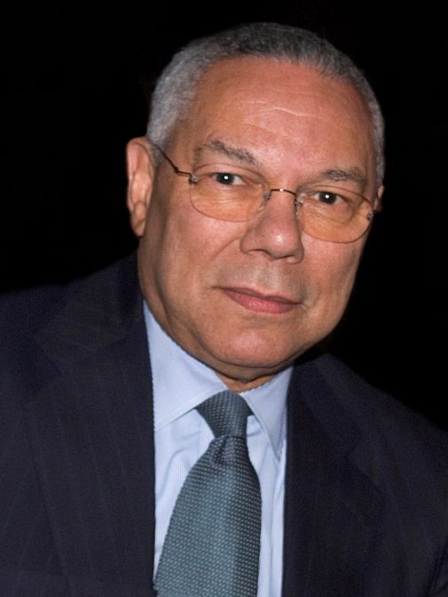 Retired Gen. Colin Powell