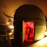 Keck Telescope in Westmont Observatory