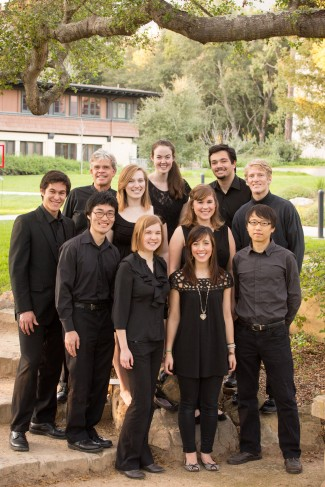 The Westmont Chamber Singers and Director Grey Brothers