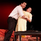 Mak Manson and Jackie Dressler perform in last year's Fringe Festival