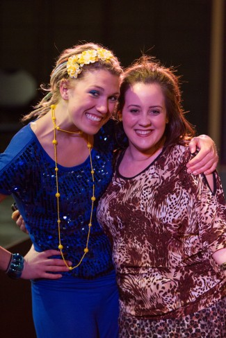 Shawnee Witt and Jackie Dressler, who performed in