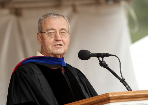 Dallas Willard at Westmont Commencement 2011
