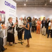 Xarene Eskandar accepts her Best in Show award