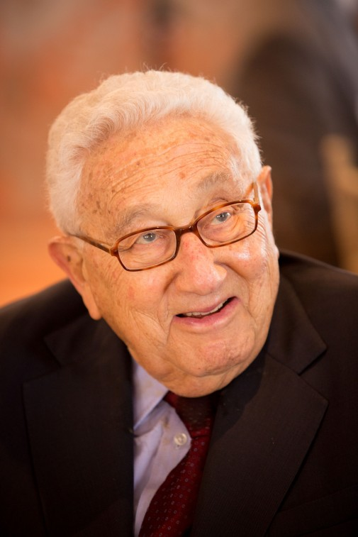 Kissinger Smile