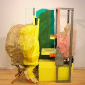 "Jessica Stockholder's ""Made of 3 Elements"""