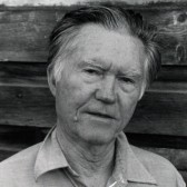Poet William Stafford (courtesy Lamont Library)
