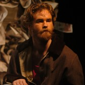 "Jonathan Hicks in Westmont's 2004 production of ""Frankenstein"""