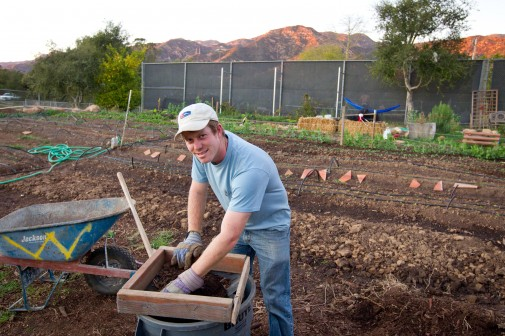 Anthony Waldrop created the first garden January 2012