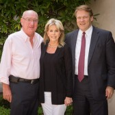 David and Anna Grotenhuis with President Gayle D. Beebe
