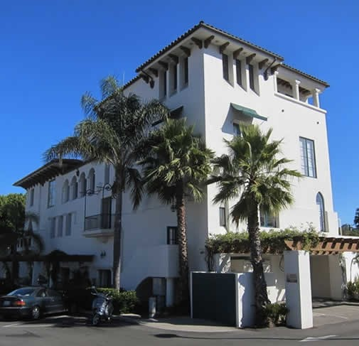 The Hutton Parker Foundation Building in downtown Santa Barbara