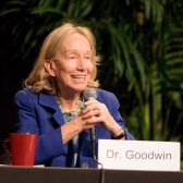 Doris Kearns Goodwin speaks at the 10th annual Westmont President's Breakfast
