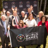 At a press conference in July , Special Olympics and Westmont officials announced plans for the college to house 100 coaches and athletes competing in the games this summer.