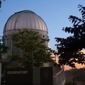 The Westmont Observatory, home of the Keck Telescope