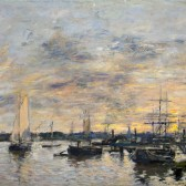 "Eugène Boudin's ""The Port of Bordeaux"""