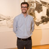 Joel Daniel Phillips displayed his work at the Westmont Ridley-Tree Museum of Art in 2012