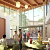 Two residential buildings will house students participating in leadership programs