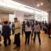 The 2015 Senior Show in the Westmont Ridley-Tree Museum of Art