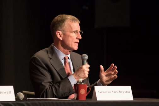 McChrystal at convocation