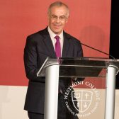 David Brooks at the 2016 Westmont President's Breakfast
