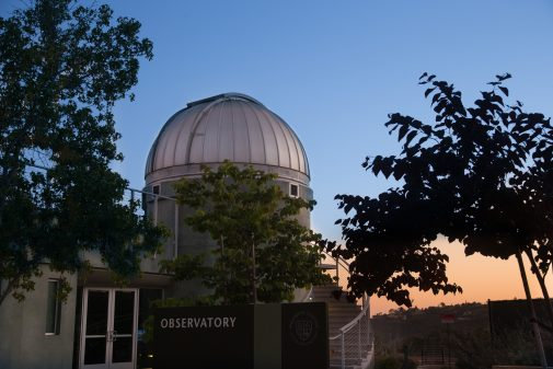 The Westmont Observatory is open to the public every third Friday of the month