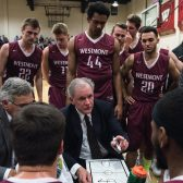 John Moore is in his 24th season as head coach of Westmont men's basketball
