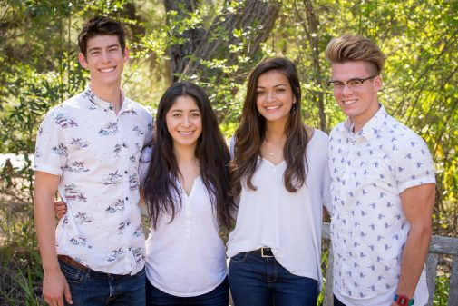 Indonesia Team: Peter Zippi, Adreanna Villanueva, Hope Geisinger, Tanner Klein