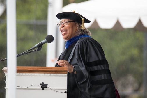 Commencement Speaker Carol Houston