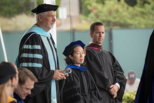 Professors Gregg Afman, Felicia Song and Scott Anderson