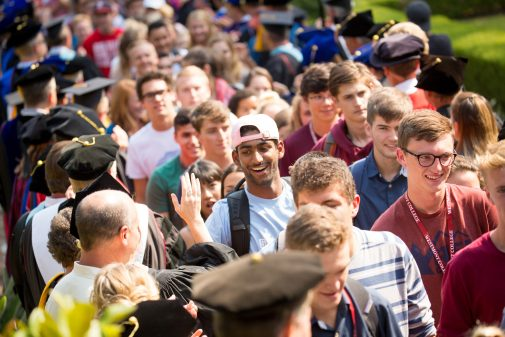 New students will take their First Walk on Friday