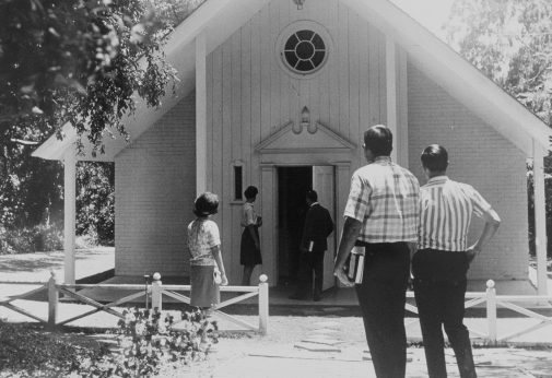 The chapel in the early 60s